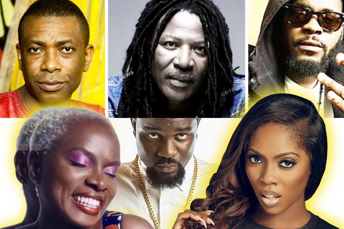 Artiste De L Afrique De L Ouest Meilleurs Chanteurs Africains Connus