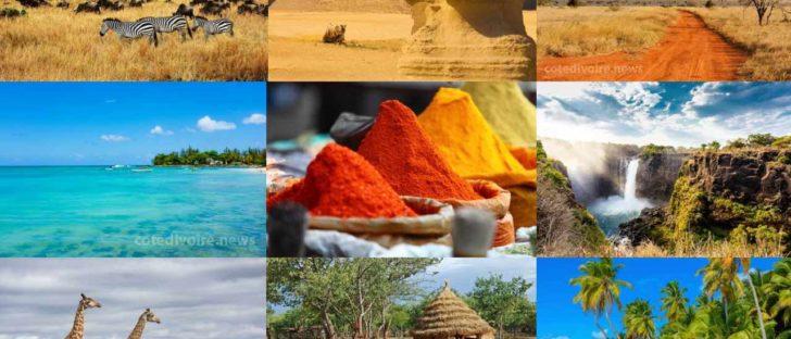 Pays plus beaux d'Afrique