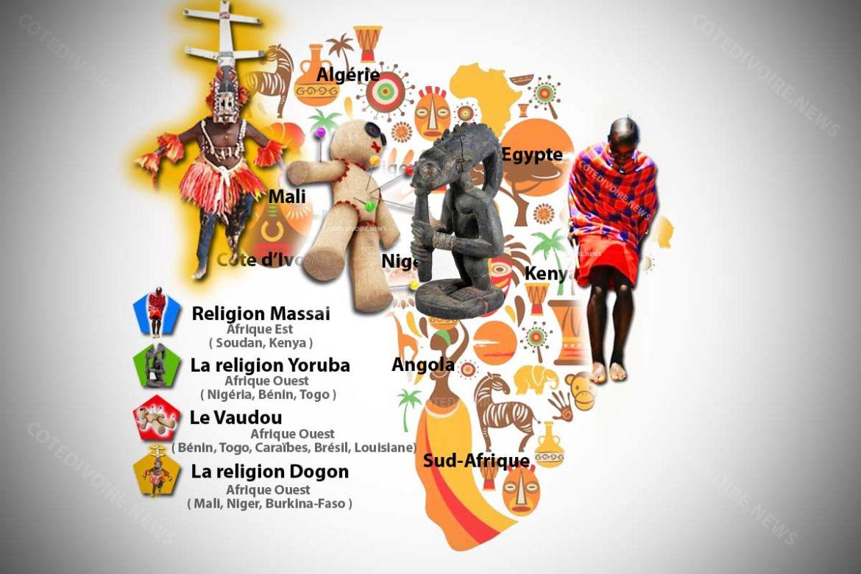 Religions Traditionnelles d'Afrique Noire