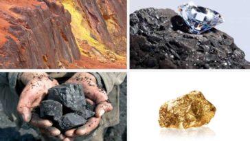 Principales Ressources naturelles en Afrique par pays