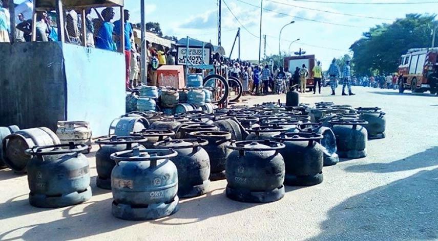 Stock Butane route Bouaké