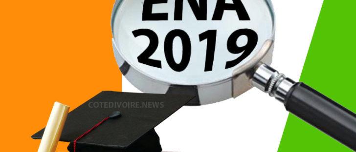 Concours ENA 2019 Côte d'Ivoire