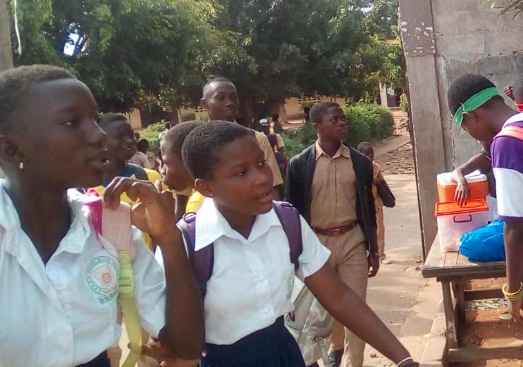élève école ville Bouaké