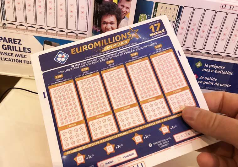 Résultat tirage Euro-millions