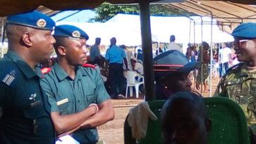 Génie militaires à Bouaké en Côte d'Ivoire