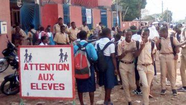 Grève école Bouaké