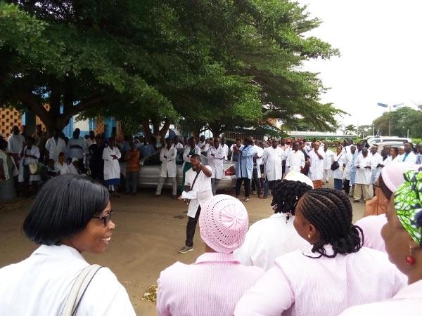 Grève fonctionnaires de santé Bouaké