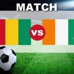 Match Guinée Côte d'Ivoire