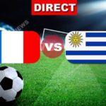 Direct Match : la France rencontre Uruguay