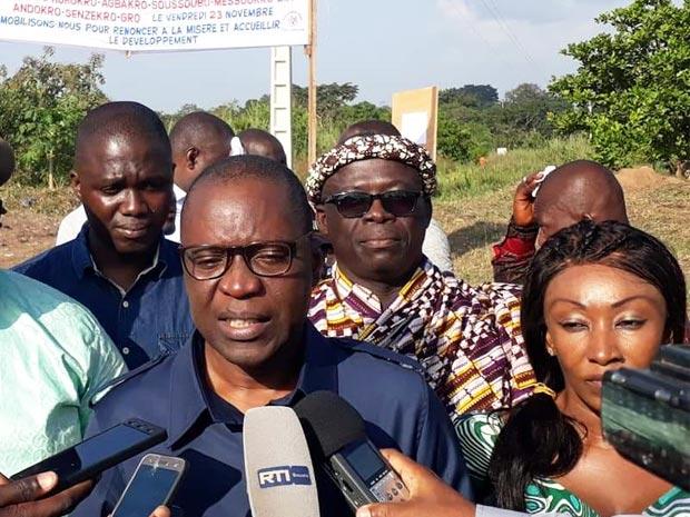 Ministre Amadou Koné