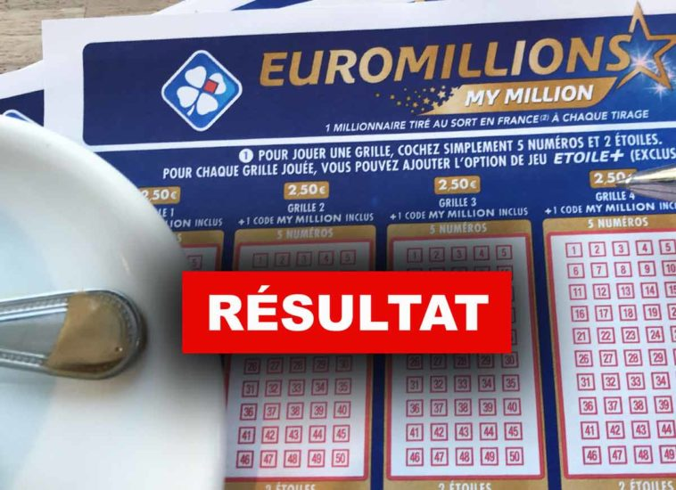 Euromillion du tirage du 21 12 18