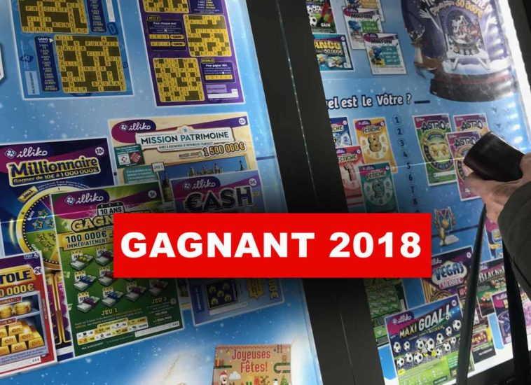 Euromillion gagnant 2018