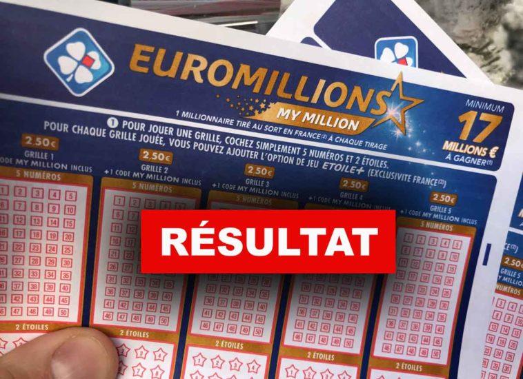 Euromillions du 25/12/18