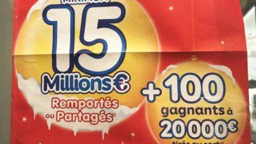 Gros Gains et cagnottes d'Euromillions année 2018