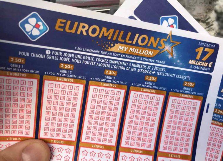 Résultat Euromillion du 8 01 19