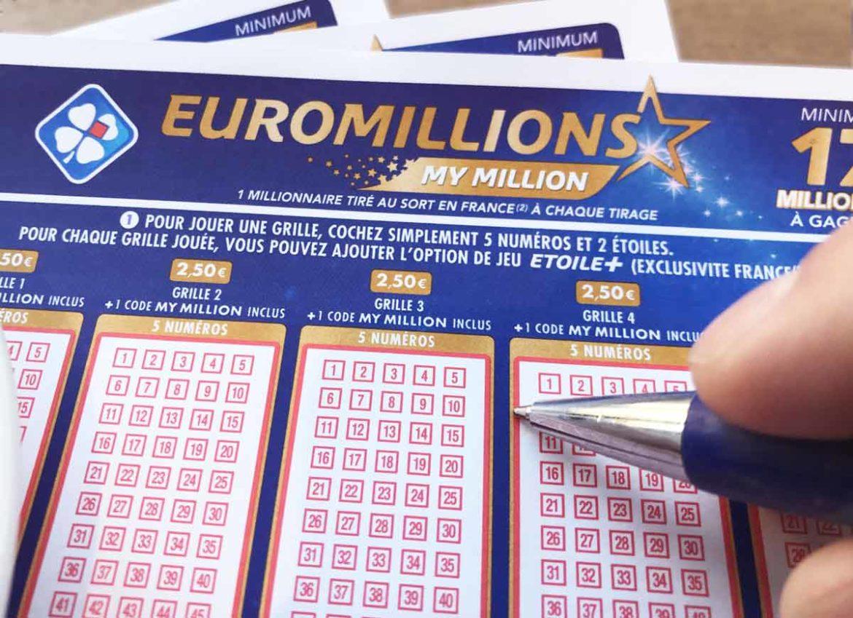 Tirage du l'Euromillion du vendredi
