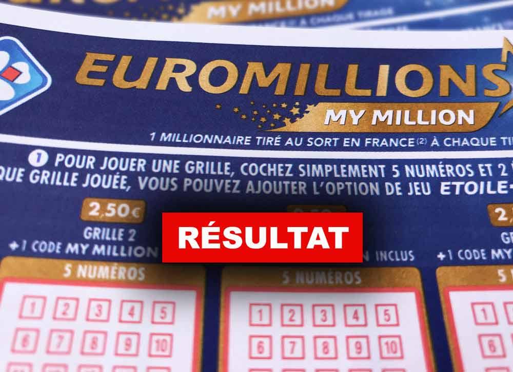 Euromillion du 26 02 2019
