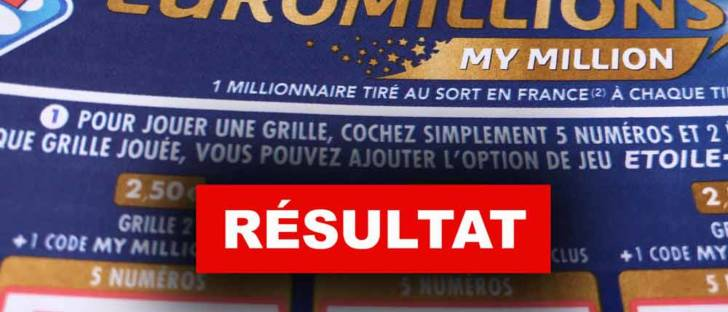 Tirage de d'Euromillion 12 02 19