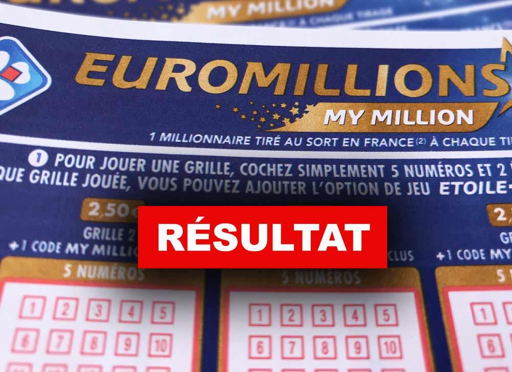 Tirage de l' Euromillions du 22.2.19