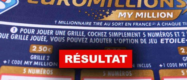 Tirage Euromillions 7 2 19