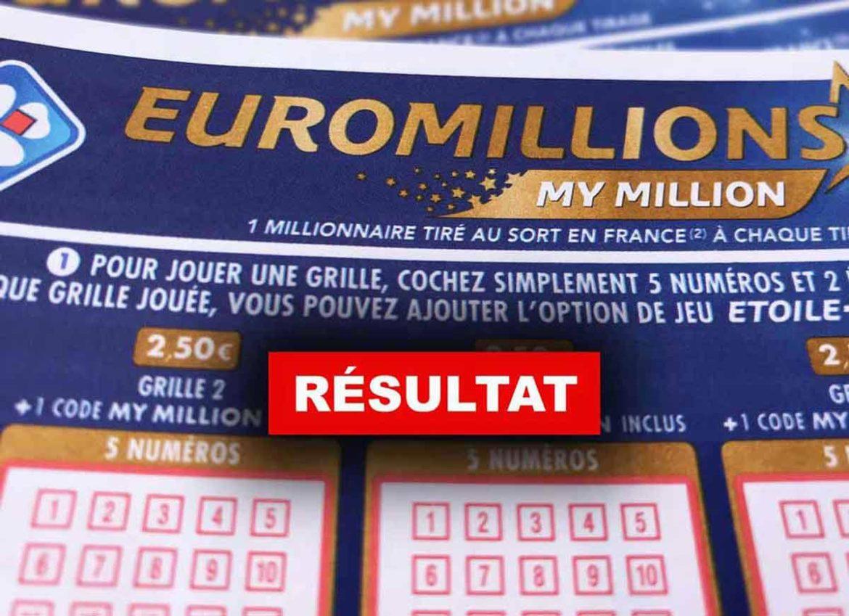 Résultat de l'Euromillion 29 03 19