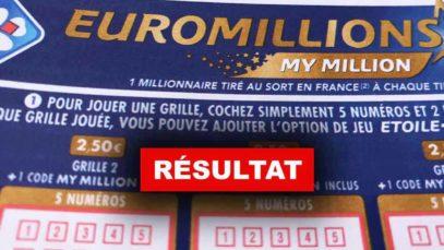Résultat Euromillions du 22-03-2019