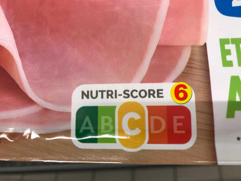 étiquette jambon nutri-score