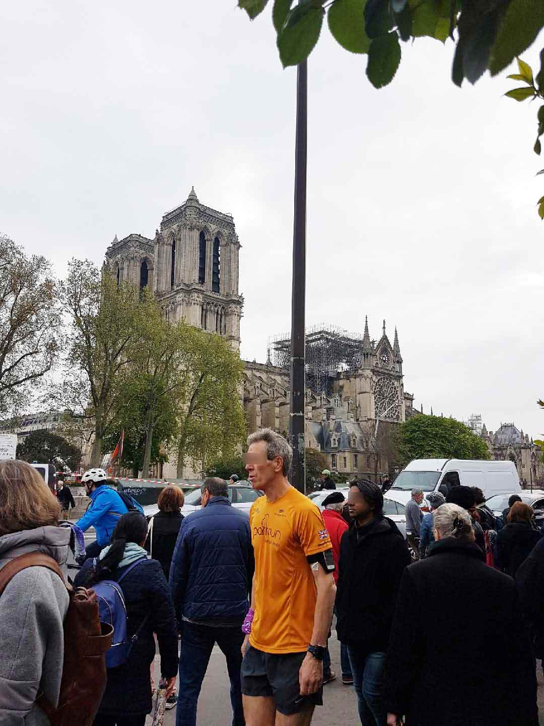 Interdiction à Notre-Dame de Paris