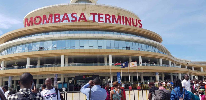 Gare Terminus de Mombasa au Kenya