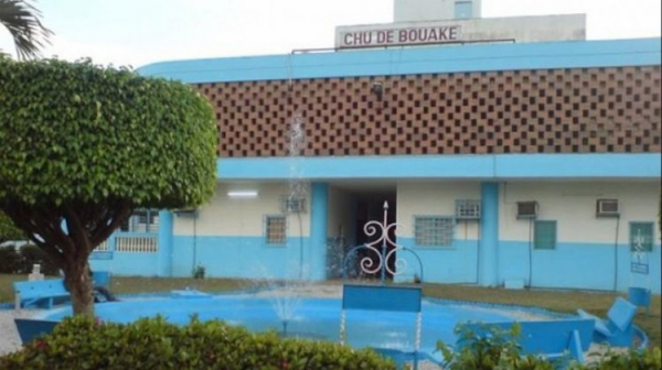 Hospitalisation de N'Guessan Konan Roméo au CHU de Bouaké