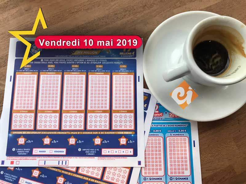 Euromillion du 10 mai 2019