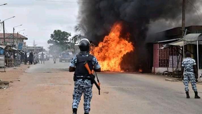 Violence et feu à Beoumi