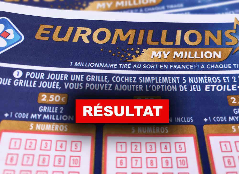 Euromillion 18 06 2019