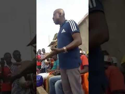 Vidéo des motos taxi à Bouaké