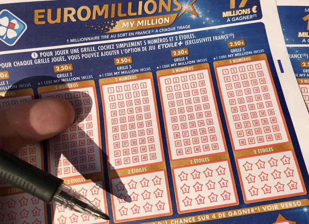 Tirage Euromillion 16 aout 2019