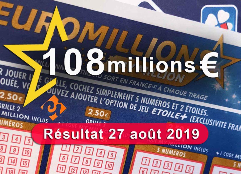 Grill de l'Euromillion 27 aout 19