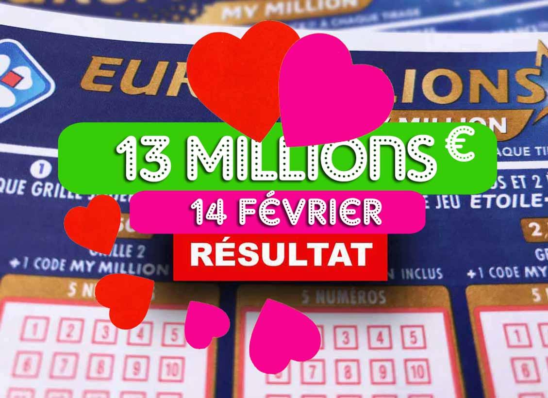 Euromillion de la Saint-Valentin 2020